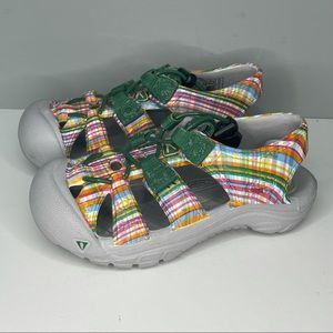 Keen Waterproof Hiking Sandals Grey and Purple Girls  US Size 7